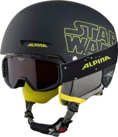 ZUPO DISNEY Casco per sport invernali Alpina 494991550220 Taglie 48-52 Colore nero N. figura 1