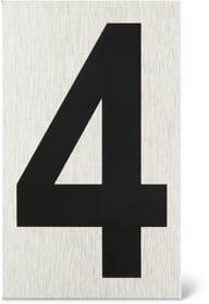 Placca porta numero 4 Enseigne de porte Alpertec 614103660620 N. figura 1