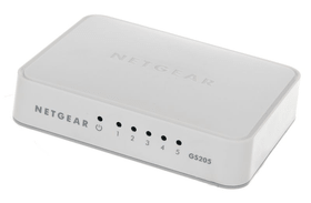 GS205-100PES Gigabit Unmanaged Switch (5-Port) Netgear 798211400000 Photo no. 1