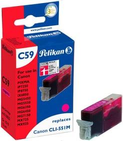 C59 magenta Cartuccia d'inchiostro Pelikan 785300123292 N. figura 1