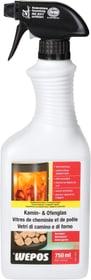 Detergente per il vetro di caminetti e stufe