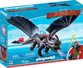 Playmobil Dragons Hicks und Ohnezahn 9246