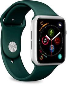 Icon Silicone Band - Apple Watch 42-44mm - dark green Cinturini Puro 785300153955 N. figura 1