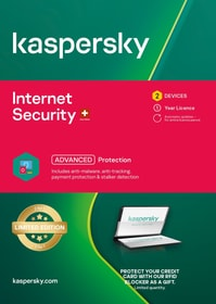 Internet Security Limited Edition inkl. RFID K. 2For1 (2 PC) [PC/Mac] (D/F/I) Physique (Box) Kaspersky 785300156462 Photo no. 1