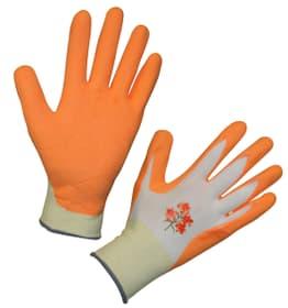 Gants de jardinage Garden Care orange T. 8 (uni) polye.latex