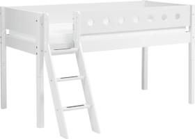 WHITE Lit mi-hauteur Flexa 404694100000 Dimensions L: 109.0 cm x P: 210.0 cm x H: 120.0 cm Couleur Blanc Photo no. 1