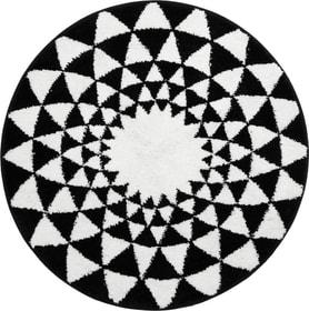 LORENZO Tapis de bain 453027450310 Couleur Noir Dimensions L: 90.0 cm x H: 90.0 cm Photo no. 1