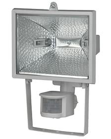 Halogen Sensor-Wandstrahler 400 Watt, weiss