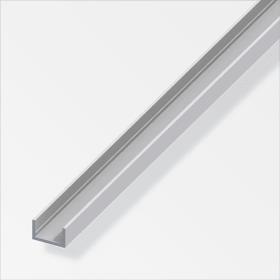 U-Profilo 10 x 22.5 mm argento 2 m alfer 605086500000 N. figura 1