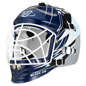 Streethockey-Goalie Maske Junior Black Ice 495736700000 Bild-Nr. 1