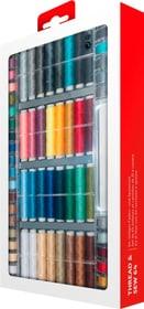 Kit di filati con 64 rocchetti e spoline Accessori macchine da cucire Mio Star 717725200000 N. figura 1