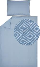 ELIOTTA Federa per cuscino percalle 451194110640 Colore Azzurro Dimensioni L: 65.0 cm x A: 65.0 cm N. figura 1