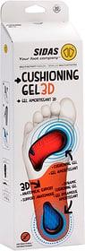 Cushioning Gel 3D Sport Einlegesohle Sidas 499689100310 Grösse S Farbe weiss Bild-Nr. 1
