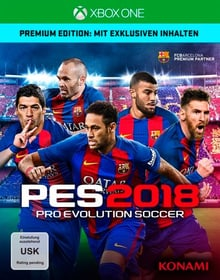 Xbox One - PES 2018 - Pro Evolution Soccer 2018 Premium Ed. Box 785300122648 Bild Nr. 1