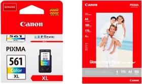 CL-561XL+ Glossy Photo Paper GP501 kit inchiostro e carta fotografica Canon 798312300000 N. figura 1