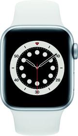 Watch Series 6 GPS 40mm Silver Aluminium White Sport Band Smartwatch Apple 798764400000 Photo no. 1