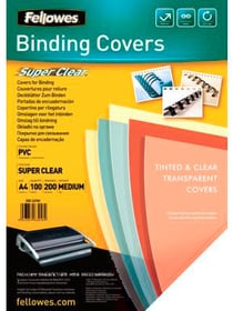 Deckblatt 200mic A4 Binderücken Fellowes 785300150960 Bild Nr. 1