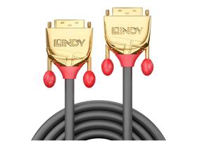 DVI-D Dual Link Kabel, Gold Line 1m Kabel LINDY 785300141533 Bild Nr. 1
