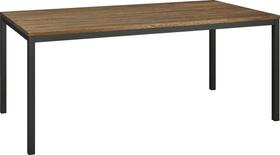 ALEXIS II Table 403700415013 Dimensions L: 180.0 cm x P: 90.0 cm x H: 75.0 cm Couleur Chêne foncé Photo no. 1