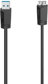 Câble micro-USB, USB 2.0, 480 Mbit/s, 0,75 m Cable Hama 798294700000 Photo no. 1