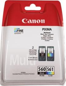 PG-560/CL-561 Multipack noir/couleur cartouche d'encre Canon 798563500000 Photo no. 1