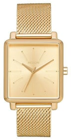 K Squared Milanese All Gold 32 x 30 mm Montre bracelet Nixon 785300137023 Photo no. 1