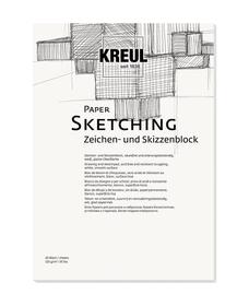KREUL Paper Sketching 20 Blatt 120 g/m²  DIN A3 C.Kreul 667180800000 Bild Nr. 1