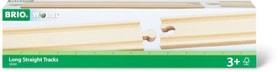 BRIO 1/1 Rails droits longs, 216mm (FSC®) 745328000000 Photo no. 1