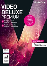 PC - Video deluxe 2018 Premium (I) Physique (Box) Magix 785300129426 Photo no. 1