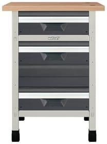 Werkbank No. 3 650 x 650 x 860 mm 8053 Werkstatt-System Wolfcraft 601456500000 Bild Nr. 1