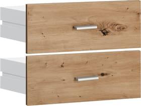 SAX Lot de tiroirs étroits imitation chêne 407558500000 Photo no. 1