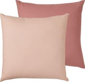 LUCITA Cuscini decorativi in set da 2 450764440238 Dimensioni L: 40.0 cm x A: 40.0 cm Colore Rosa N. figura 1