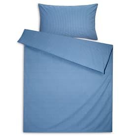 YASMIN Perkal-Kissenbezug 376072410840 Grösse L: 70.0 cm x B: 50.0 cm Farbe Blau Bild Nr. 1