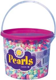 Perles coller et repas pastel