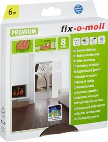 E-Profil Gummi-Dichtung 9 x 4 mm, 6 m Fix-O-Moll 673003100000 Farbe Braun Bild Nr. 1