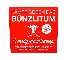 Kampf gegen das Bünzlitum Erweiterungsset Comedy (DE) Gesellschaftsspiel 747370290000 Sprache KAMPF GEGEN DAS BÜNZLI ERW._DE Bild Nr. 1