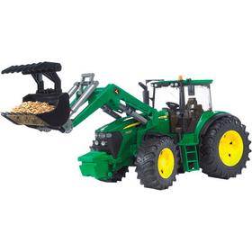 Bruder Spielwaren John Deere Tracteur 7930 avec fourche 785300127866 Photo no. 1