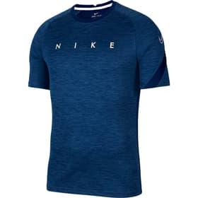 Men Nike Dry Academy Top SS Shirt de football pour homme Nike 498299300322 Taille S Couleur bleu foncé Photo no. 1