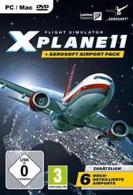 PC - Flight Simulator X-Plane 11 + Aerosoft Airport Pack D Box 785300144494 N. figura 1