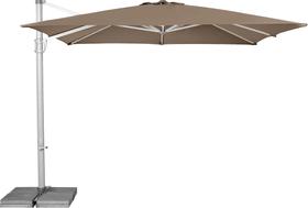 SUN FLEX Ombrellone Suncomfort by Glatz 408008800000 Dimensioni L: 300.0 cm x P: 300.0 cm x A: 270.0 cm Colore Talpa N. figura 1