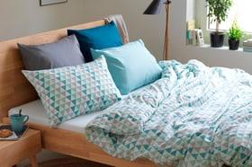 TIRA Fourre de duvet en percale 451288112541 Couleur Turquoise Dimensions L: 200.0 cm x H: 210.0 cm Photo no. 1