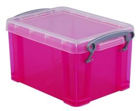 Ordnungsbox 0.3L Really Useful Box 603730600000 Grösse L: 12.0 cm x B: 8.5 cm x H: 6.5 cm Farbe Pink Bild Nr. 1