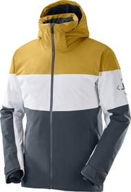 SLALOM JACKET M Veste de ski Salomon 460377100380 Taille S Couleur gris Photo no. 1