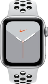 Watch Nike Series 5 LTE 40mm silver Aluminium Platinum Black Nike Sport Band Smartwatch Apple 785300146963 Photo no. 1
