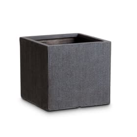 PETE Cache-pot 382068700000 Dimensions L: 29.5 cm x P: 29.5 cm x H: 27.0 cm Couleur Gris Photo no. 1
