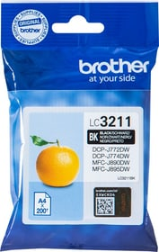 LC-3211BK noir Cartouche d'encre Brother 798546100000 Photo no. 1