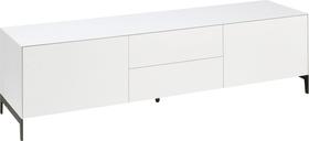LUX TV-Meuble 400826200000 Dimensions L: 180.0 cm x P: 46.0 cm x H: 50.4 cm Couleur Blanc Photo no. 1