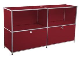 FLEXCUBE Buffet 401893400000 Dimensions L: 152.5 cm x P: 40.0 cm x H: 80.5 cm Couleur Rouge Photo no. 1
