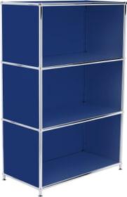 FLEXCUBE Highboard 401808600040 Grösse B: 77.0 cm x T: 40.0 cm x H: 118.0 cm Farbe Blau Bild Nr. 1