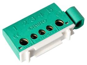 Erdklemme 3x6mm2+2x16mm2 grün Anschlussklemmen Hager 612172200000 Bild Nr. 1